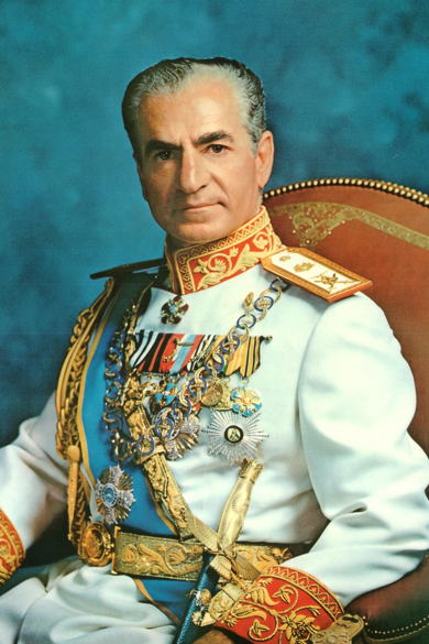 An official portrait of Mohammad Reza Shah Pahlavi, the late Shah of Iran. Mohammad Reza Shah reigned as Shahanshah of Iran from 1941 until 1979, when the Islamic Revolution overthrew the monarchy. He died in exile in 1980 in Cairo, Egypt.