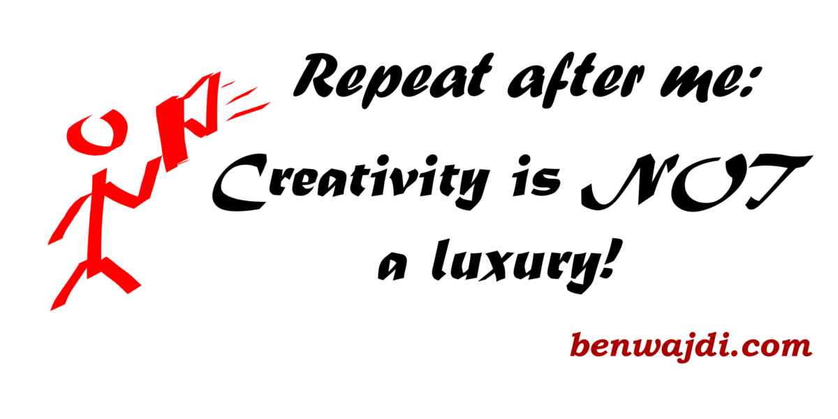 Creativity Not a Luxury Julia Cameron The Artist Way